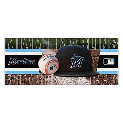 MLB Florida Marlins Baseball Bat Runner