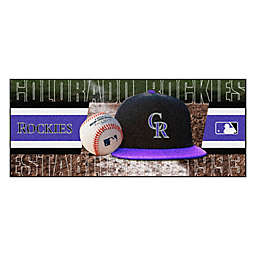 MLB Colorado Rockies Baseball Bat Runner