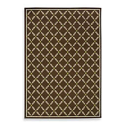 Cabana Bay Capri Brown Indoor/Outdoor Rug