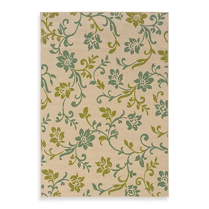 Buy Oriental Weavers Caspian Ivory Blue Floral 2 Foot 3