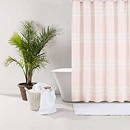 UGG® Riley Stripe 72-Inch x 72-Inch Shower Curtain in Sunset