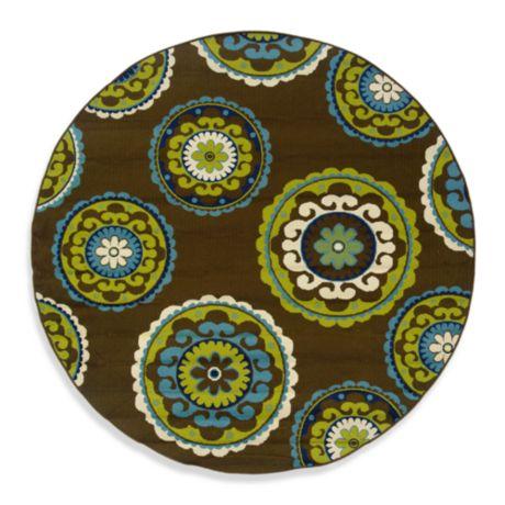 Buy Oriental Weavers Caspian 7 Foot X 10 Inch Round Indoor