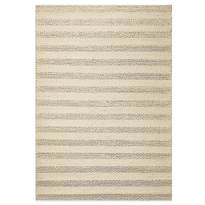 Alternate image 1 for KAS Cortico Hand Woven Rug in White