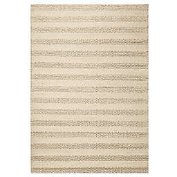KAS Cortico Hand Woven Rug in White