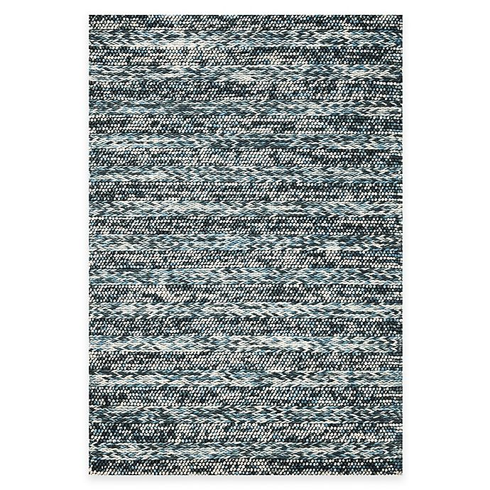 Alternate image 1 for KAS Cortico Blue Hand Woven Rug