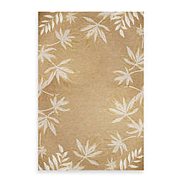 KAS Horizon Sage Fern Border Indoor/Outdoor Rugs