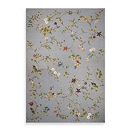 KAS Horizon Blue Floral Indoor/Outdoor Rugs