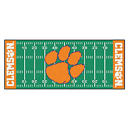 """Clemson University Football Field 72"""" x 30"""" Runner"""