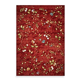 KAS Horizon Red Floral Indoor/Outdoor Rugs