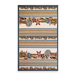 KAS Fairfax Indoor/Outdoor Seashells Rug