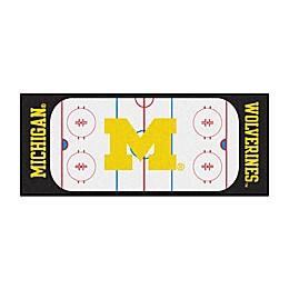 University of Michigan Hockey Rink Carpeted Runner Mat
