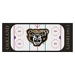 Oakland University Hockey Rink Carpeted Runner Mat