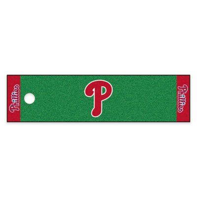 MLB Philadelphia Phillies 6-Foot Putting Green Mat with ...