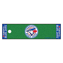 MLB Toronto Blue Jays 6-Foot Putting Green Mat with Ball Cup Back-Stop
