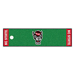 North Carolina State University 6-Foot Putting Green with Ball Cup Back-Stop