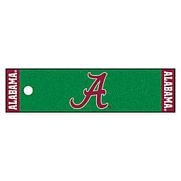 University of Alabama 6-Foot Putting Green with Ball Cup Back-Stop