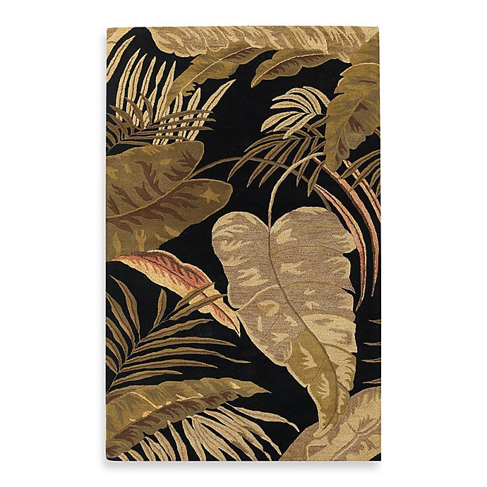 Alternate image 1 for KAS Havana Midnight Rainforest Rug