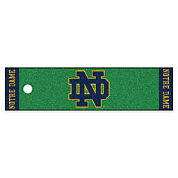 Notre Dame University Alternate 6-Foot Putting Green with Ball Cup Back-Stop