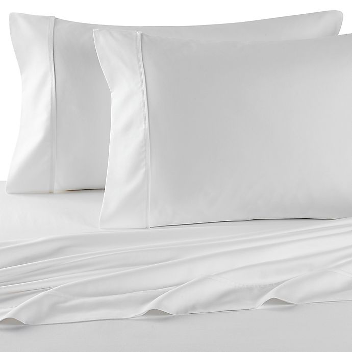 Alternate image 1 for Wamsutta® 400 Thread Count Super King Sheet Set in White