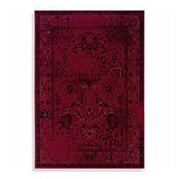 Oriental Weavers Revival Rugs in Red