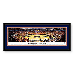 Auburn University Panoramic Print with Deluxe Frame