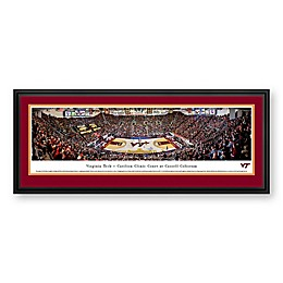 Virginia Tech University Panoramic Print with Deluxe Frame