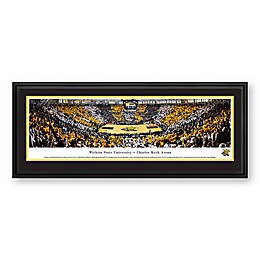 Wichita State University Panoramic Print with Deluxe Frame