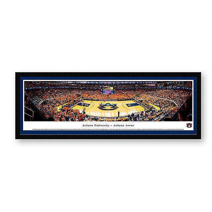 Auburn University Panoramic Basketball Arena Framed Wall Art