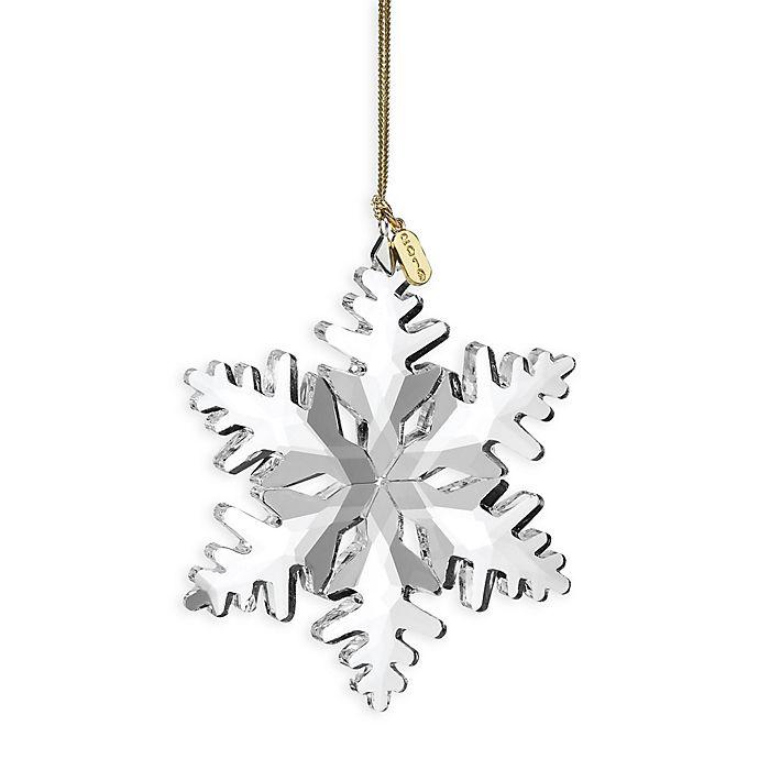Alternate image 1 for Lenox® 2019 Optic Snowflake Ornament