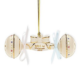 Lenox® 2019 Baby's 1st Christmas Rattle Ornament