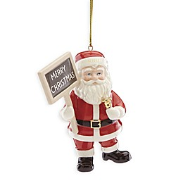 Lenox® 2019 Merry Christmas Santa Christmas Ornament