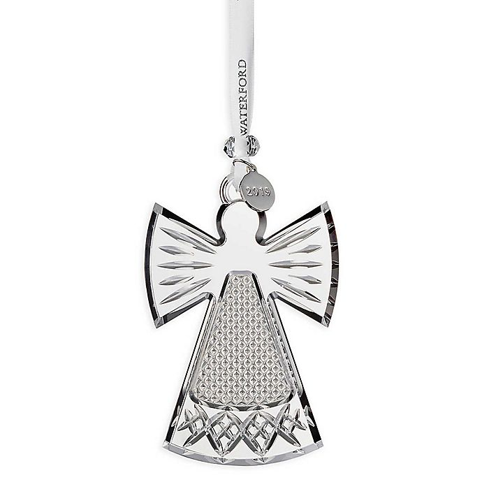Alternate image 1 for Waterford® 2019 Annual 4.2-Inch Angel Christmas Ornament