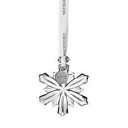 Waterford® 2019 Annual 2.5-Inch Mini Snowflake Christmas Ornament