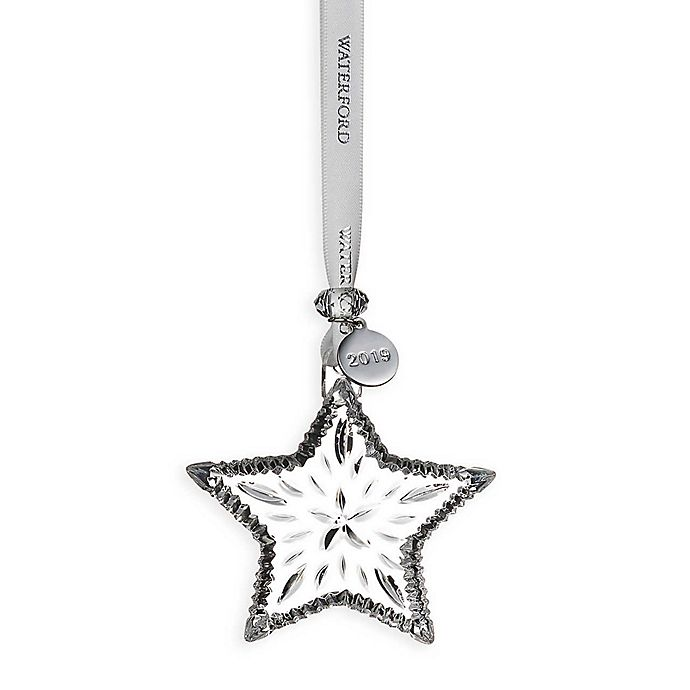 Alternate image 1 for Waterford® 2019 Annual 2.9-Inch Mini Star Christmas Ornament