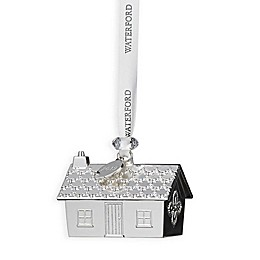 Waterford® 2019 1.7-Inch Silver Gingerbread House Christmas Ornament