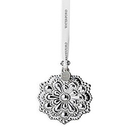 Waterford® 2019 Annual 2.4-Inch Silver Snowflake Christmas Ornament