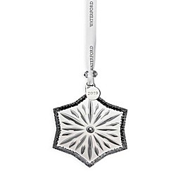 Waterford® 2019 Annual 3.7-Inch Snow Crystal Christmas Ornament