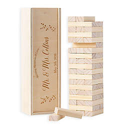 Cathy's Concepts Building Block Wedding Guest Book Box