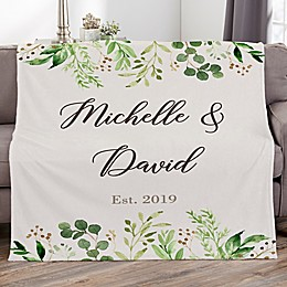 Laurels Of Love Fleece Blanket