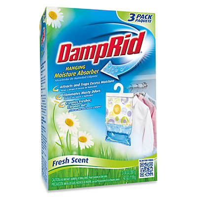 DampRid® Hanging Moisture Absorber in Fresh Scent (Set of 3)