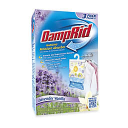 DampRid® Hanging Moisture Absorber in Lavender Vanilla (Set of 3)