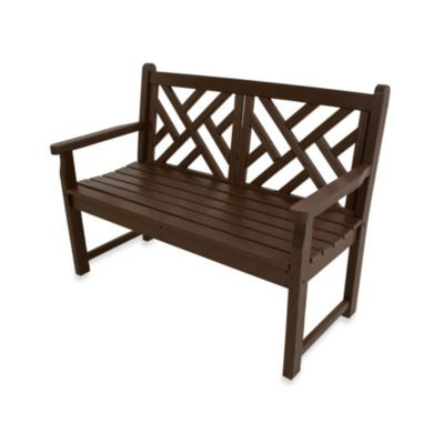 Polywood 174 Chippendale Bench Bed Bath Amp Beyond