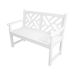 POLYWOOD® Chippendale Bench