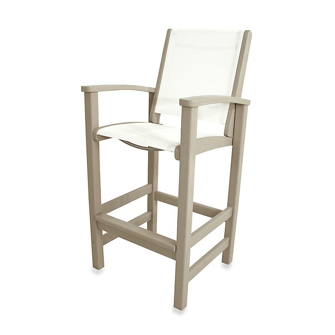 Alternate image 1 for POLYWOOD® Coastal Bar Chair
