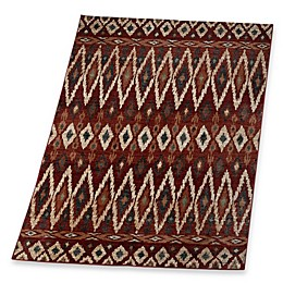 Verona Tribal Rug in Red