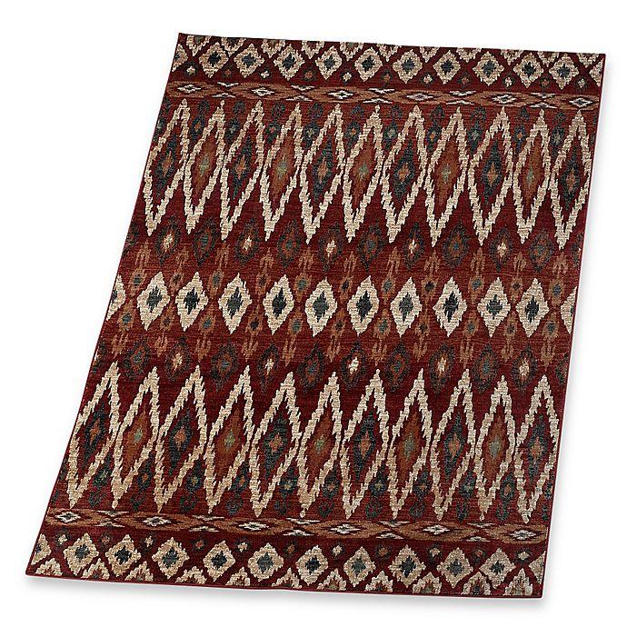 Alternate image 1 for Verona Tribal Rug in Red