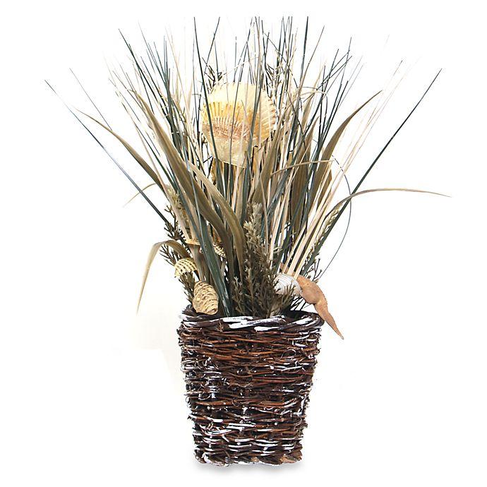 Alternate image 1 for Seashell and Grasses Arrangement