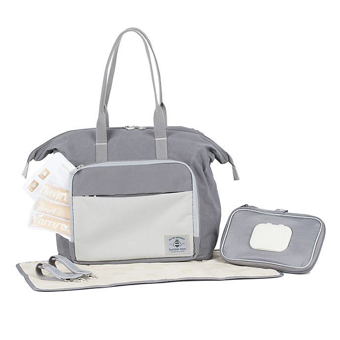 Alternate image 1 for Humble-Bee™ Boundless Charm Convertible Backpack Diaper Bag