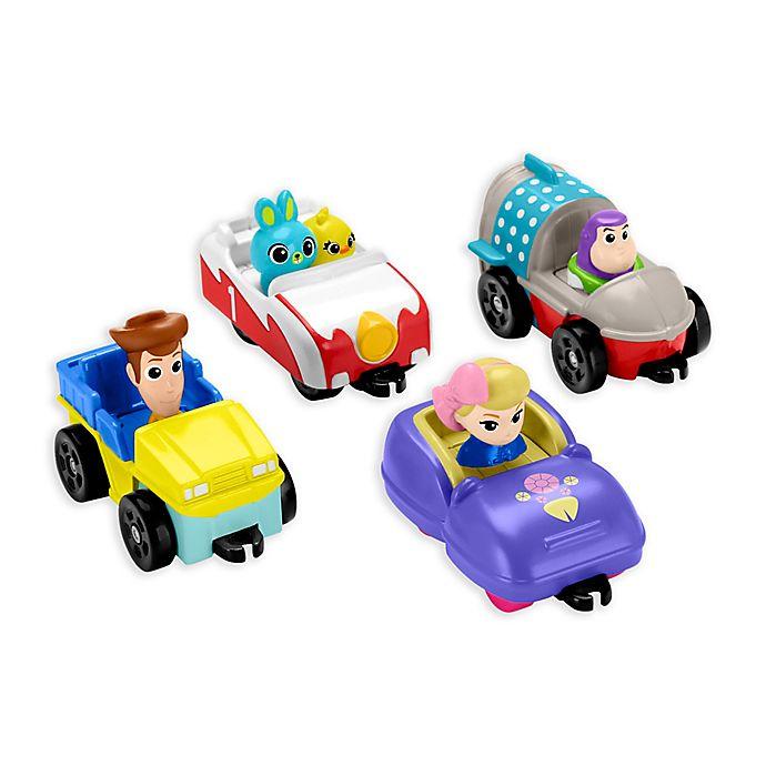 Alternate image 1 for Fisher Price® Pixar® Toy Story 4 Carnival Speedsters Set