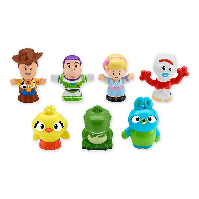 Alternate image 1 for Fisher-Price® Pixar® Toy Story 4 Little People® 7-Pack Friends Set